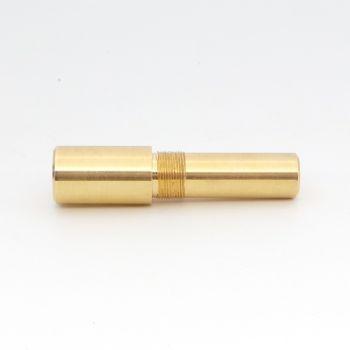 M15x0.8 triple lead threaded mandrel for kitless pen making